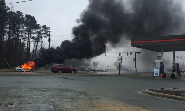Vehicle Fire Off U.S. 15-501 Causes Sunday Traffic Delays