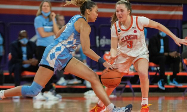 Stephanie Watts Scores 26 Points to Lead UNC Women's Basketball Past Clemson