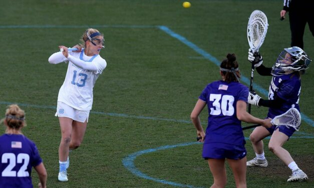 Women's Lacrosse: No. 1 UNC Blows Out High Point to Move to 3-0 in 2021