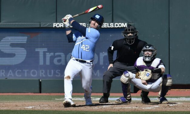 UNC Baseball Wins Sunday to Complete Series Sweep Over James Madison