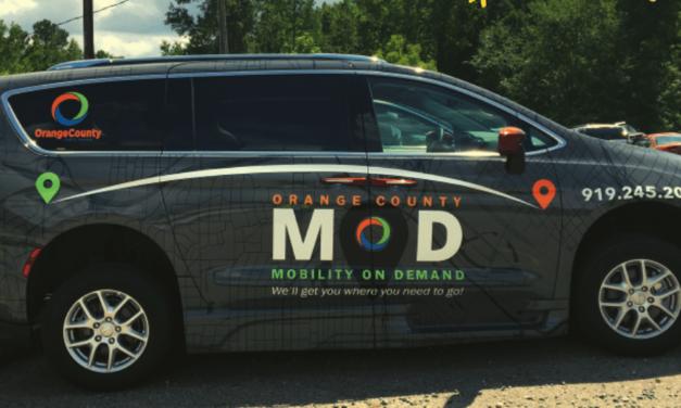 Orange County Mobility On Demand Will Provide Transportation for Hillsborough Residents