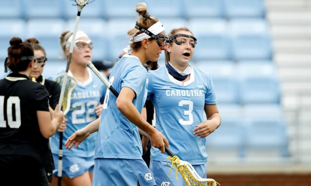 Jamie Ortega Makes History as No. 1 UNC Women's Lacrosse Defeats No. 25 Vanderbilt