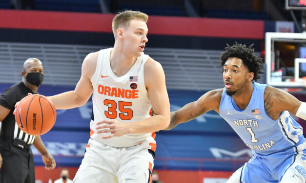 Inconsistency Strikes Again as UNC Falls on the Road at Syracuse