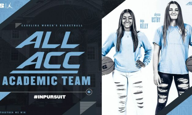 Deja Kelly and Alyssa Ustby Earn All-ACC Academic Honors