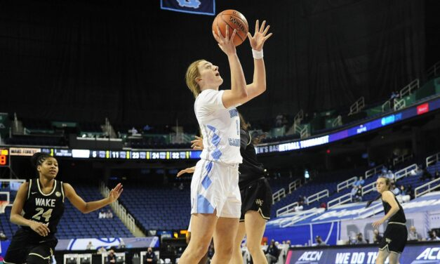 Wake Forest Hands UNC Women's Basketball Early Exit From ACC Tournament