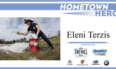 Hometown Hero: Eleni Terzis from the Chapel Hill Fire Department