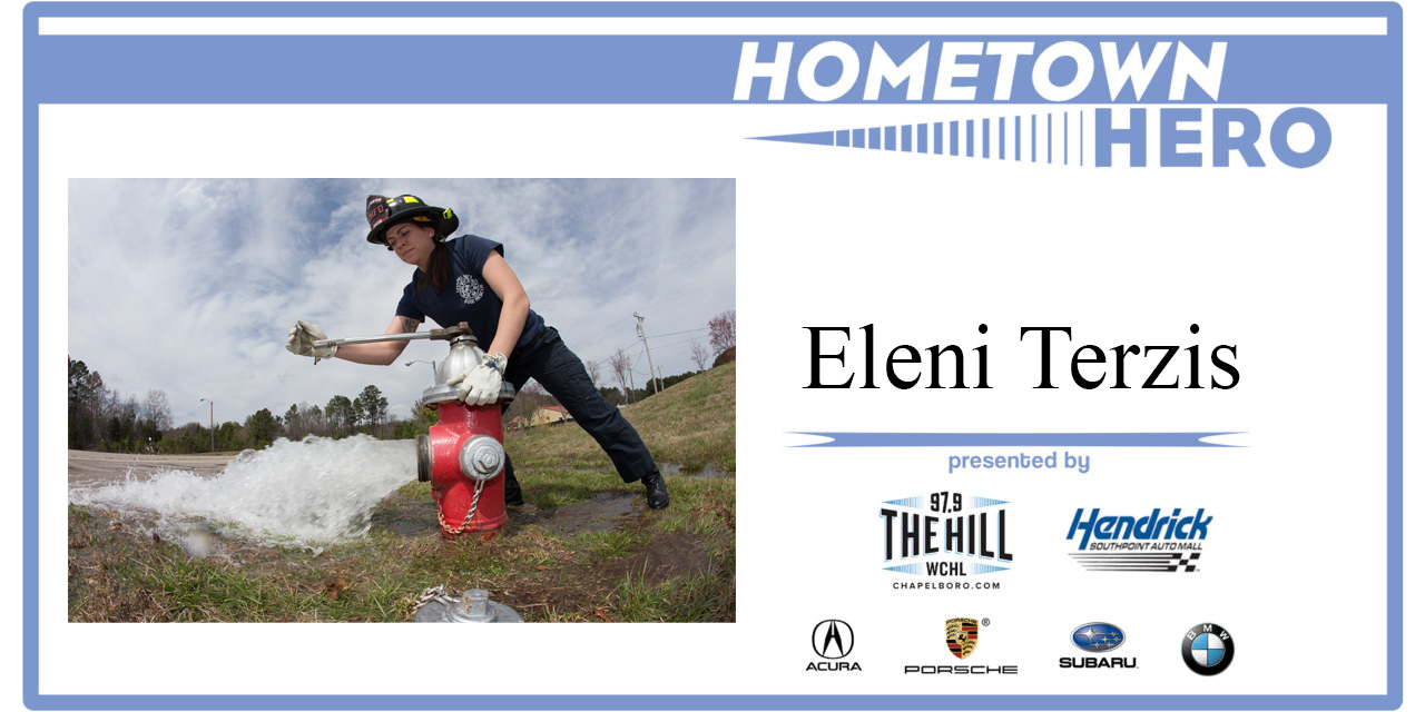 Hometown Hero: Eleni Terzis from the Chapel Hill Fire Department