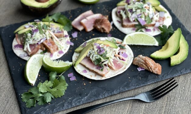 Make It Snappy: Grilled Tuna Tacos