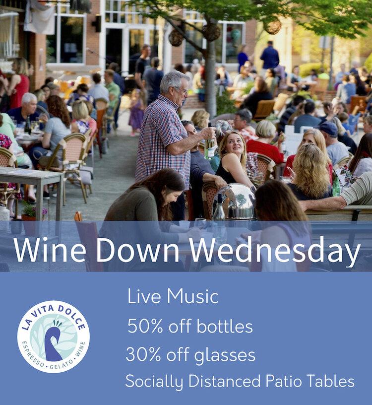 Wine Down Wednesday At La Vita Dolce Chapelboro Com