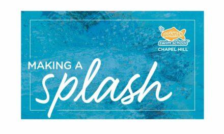 Making a Splash: More Than a Job