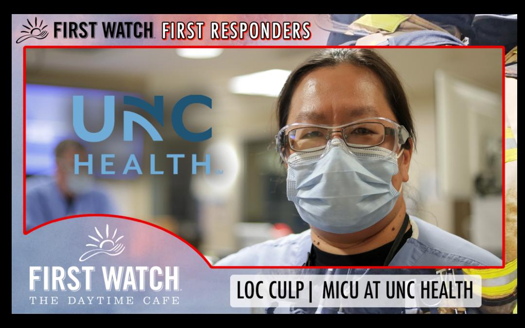 First Watch First Responders: Loc Culp
