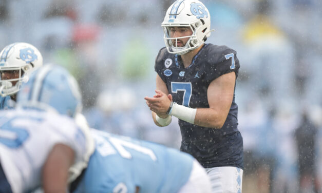 Howell Flashes the Deep Ball, Defense Flashes Its Depth During UNC Football Spring Game