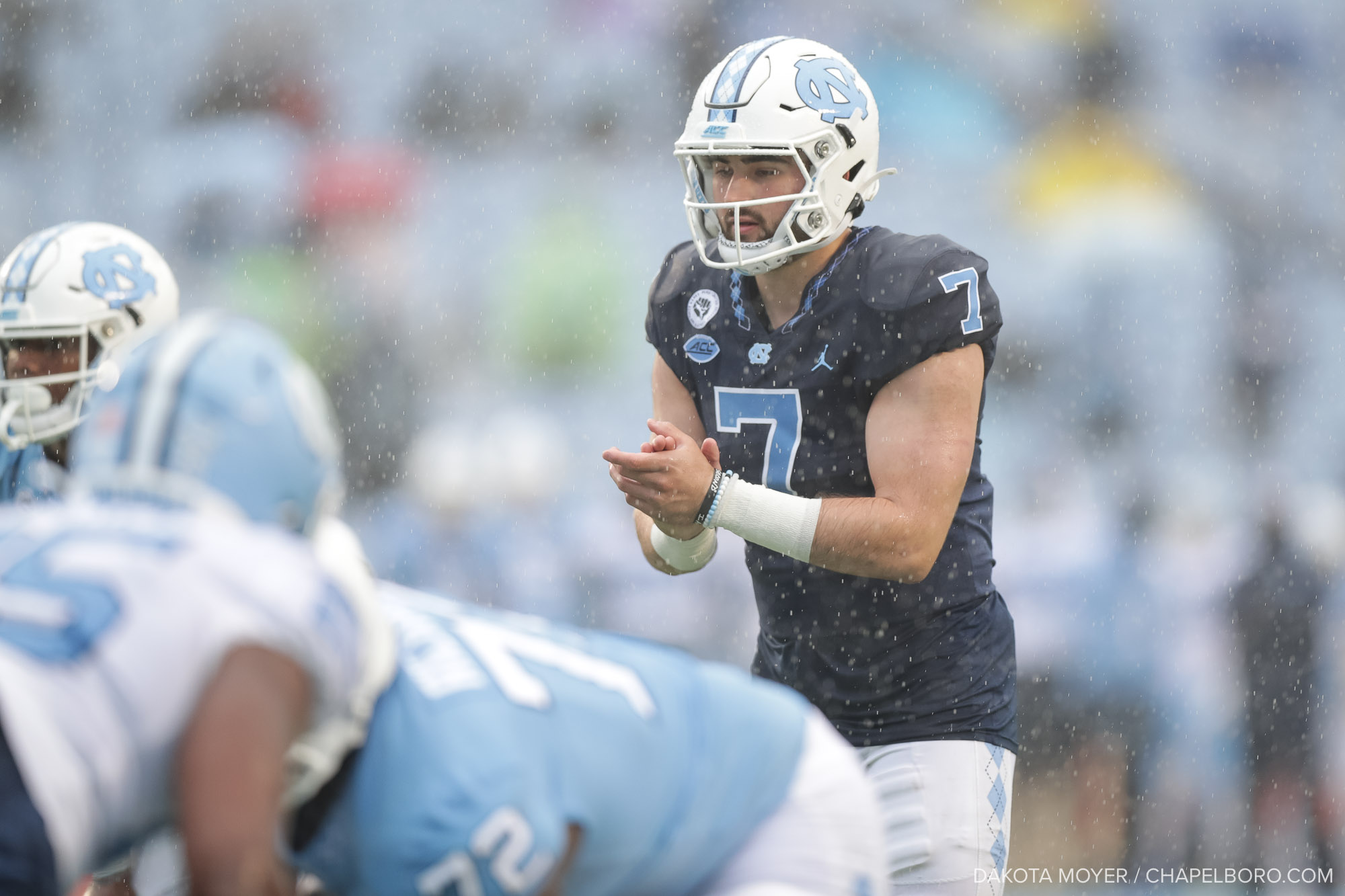 Sam Howell Flashes the Deep Ball, Defense Flashes Depth In UNC Football Spring Game