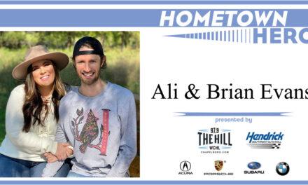 Hometown Hero: Ali and Brian Evans