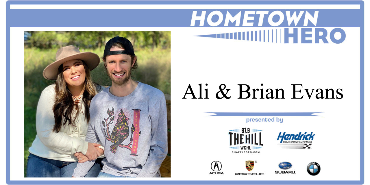 Hometown Hero: Ali and Brian Evans