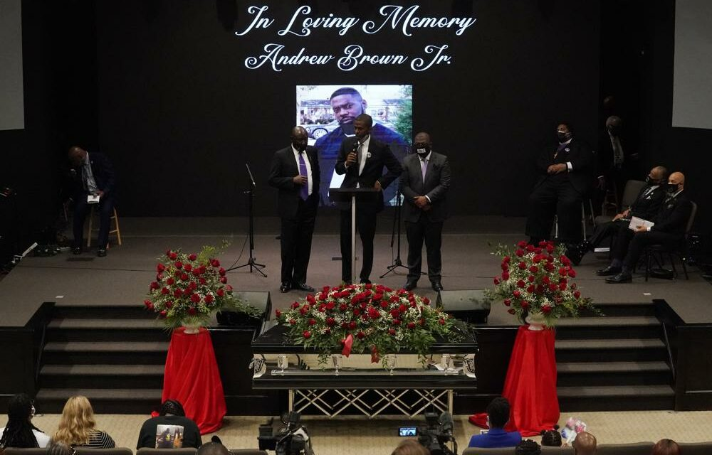 Calls for Justice at NC Funeral of Andrew Brown Jr.