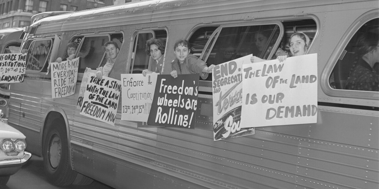 Orange County Activists Commemorating the Freedom Rides Movement's 60th Anniversary
