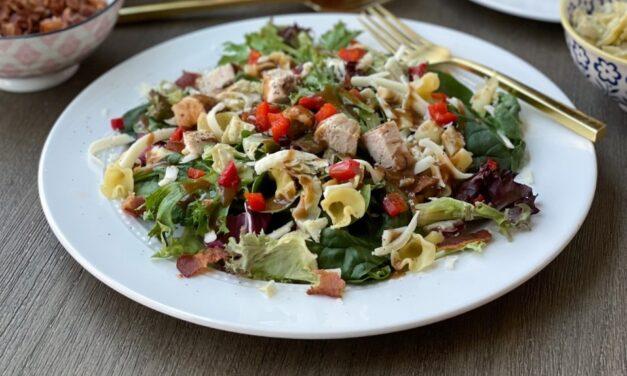 Make It Snappy: Grilled Chicken Pasta Salad