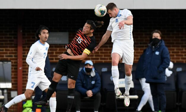 UNC Men's Soccer Punches Ticket to NCAA College Cup With Quarterfinal Victory Over No. 5 Wake Forest