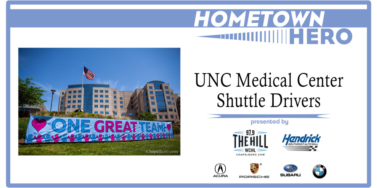 Hometown Hero: Eutie Wilson, Ike McKinney, Peter LaPlaca and Other UNC Medical Center Shuttle Drivers