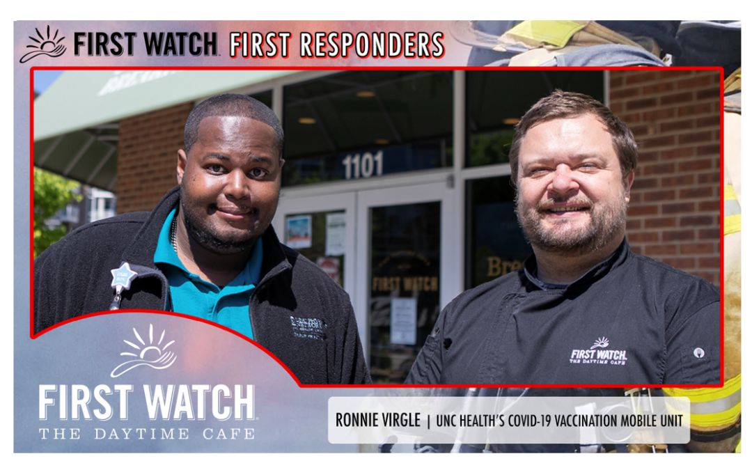 First Watch First Responders: Ronnie Virgle