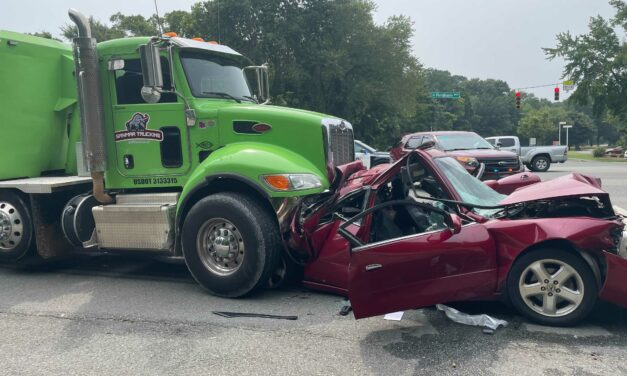 Multi-Car Crash Closes Northbound Lanes of Fordham Boulevard in Chapel Hill