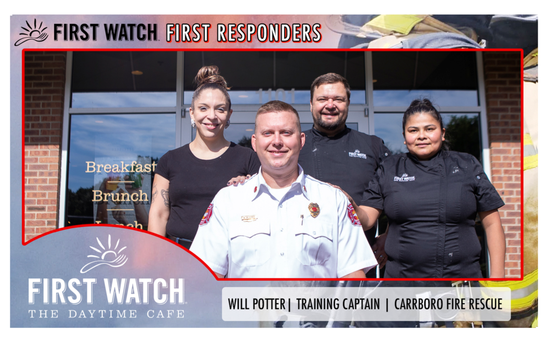 First Watch First Responders: Will Potter