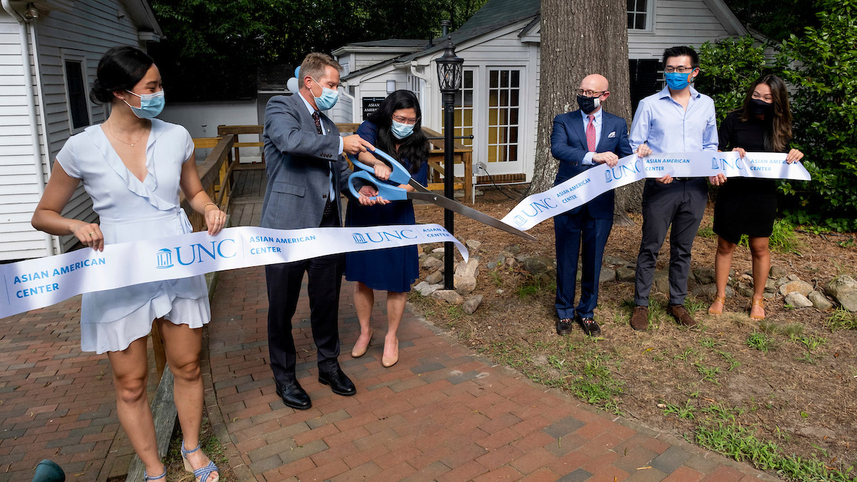 chapelboro.com: UNC's Asian American Center Opens Building on Campus After Virtual Start