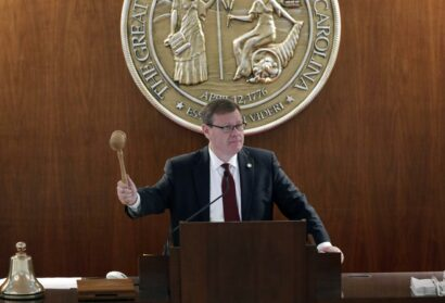 NC House Speaker: Budget, New Maps Are Goals for October