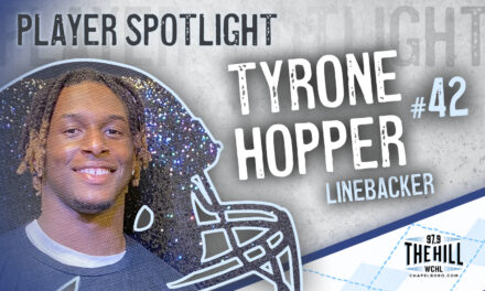 Carolina Player Spotlight: Tyrone Hopper