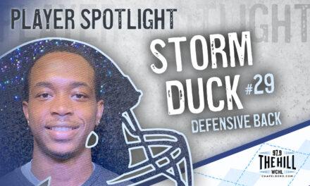 Carolina Player Spotlight: Storm Duck