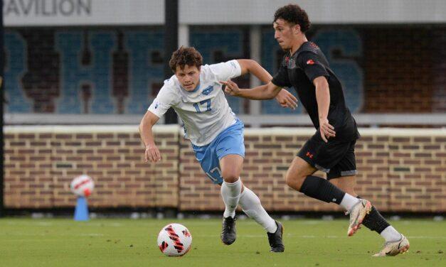 No. 16 UNC Men's Soccer Fends Off Campbell, 1-0
