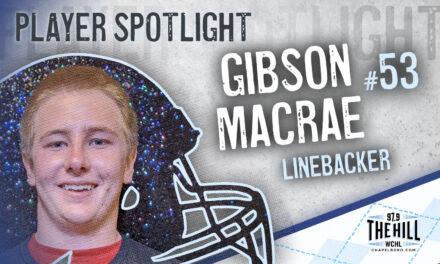 Carolina Player Spotlight: Gibson Macrae