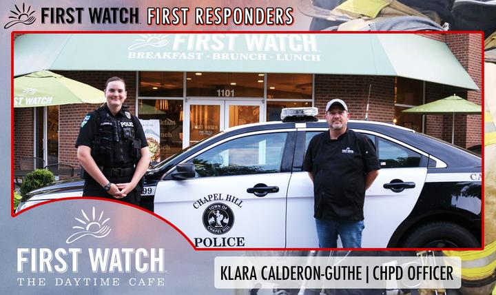 First Watch First Responder: Klara Calderon-Guthe