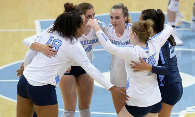 Parker-Robinson Stars As UNC Volleyball Moves to 10-0