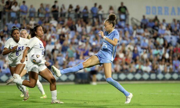 No. 4 Duke Hands No. 2 UNC Women's Soccer First Loss