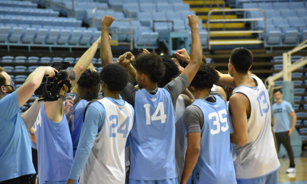 UNC Men's Basketball Opens Season at No. 19 in AP Poll