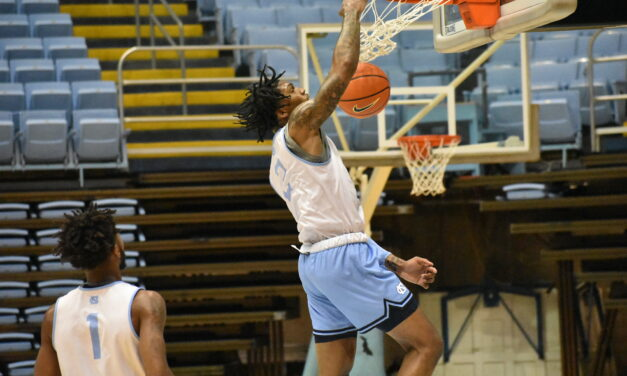 Photo Gallery: UNC Men's Basketball Holds Second Practice of the Season