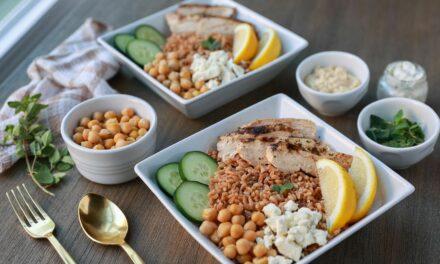 Make It Snappy: Mediterranean Farro Bowls
