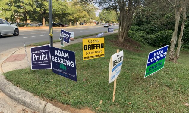 As Campaign Signs Go Missing, What Are The Consequences?