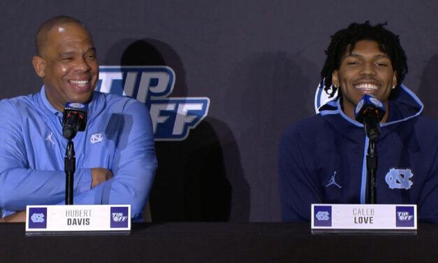 UNC Head Coach Hubert Davis at ACC Tip-Off: 'Carolina's Gonna Be Carolina'
