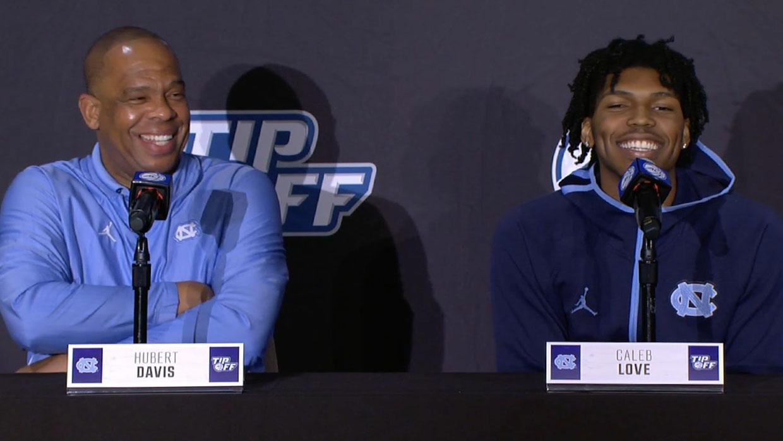 UNC Basketball Coach Hubert Davis at ACC Tip-Off: 'Carolina's Gonna Be Carolina'