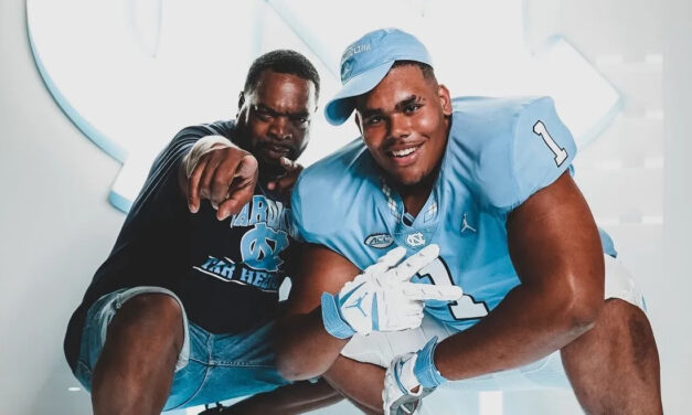Five-Star OL Zach Rice Commits to UNC Football; Second Top 10 Recruit in 2022 Class