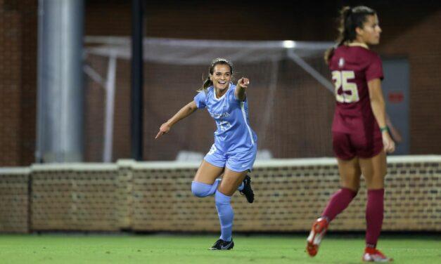 UNC Women's Soccer Snaps FSU Winning Streak with 2-2 Draw