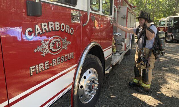 'Suspicious' Fire Under Investigation at Carrboro High School