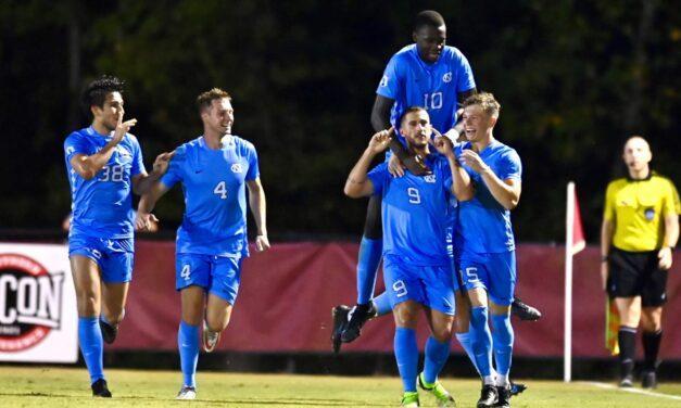 UNC Men's Soccer Claims Road Win Over No. 13 Virginia Tech