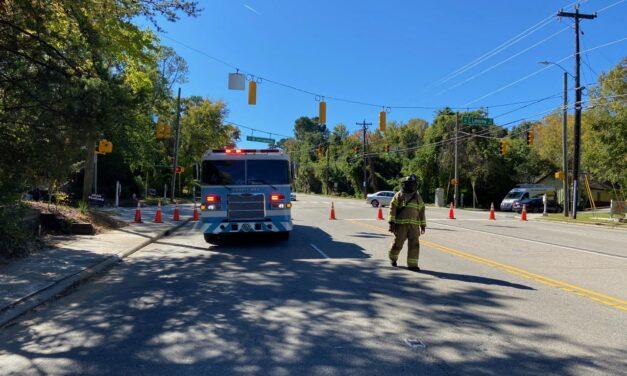 Chapel Hill's MLK Boulevard Reopened Following a Gas Line Repair